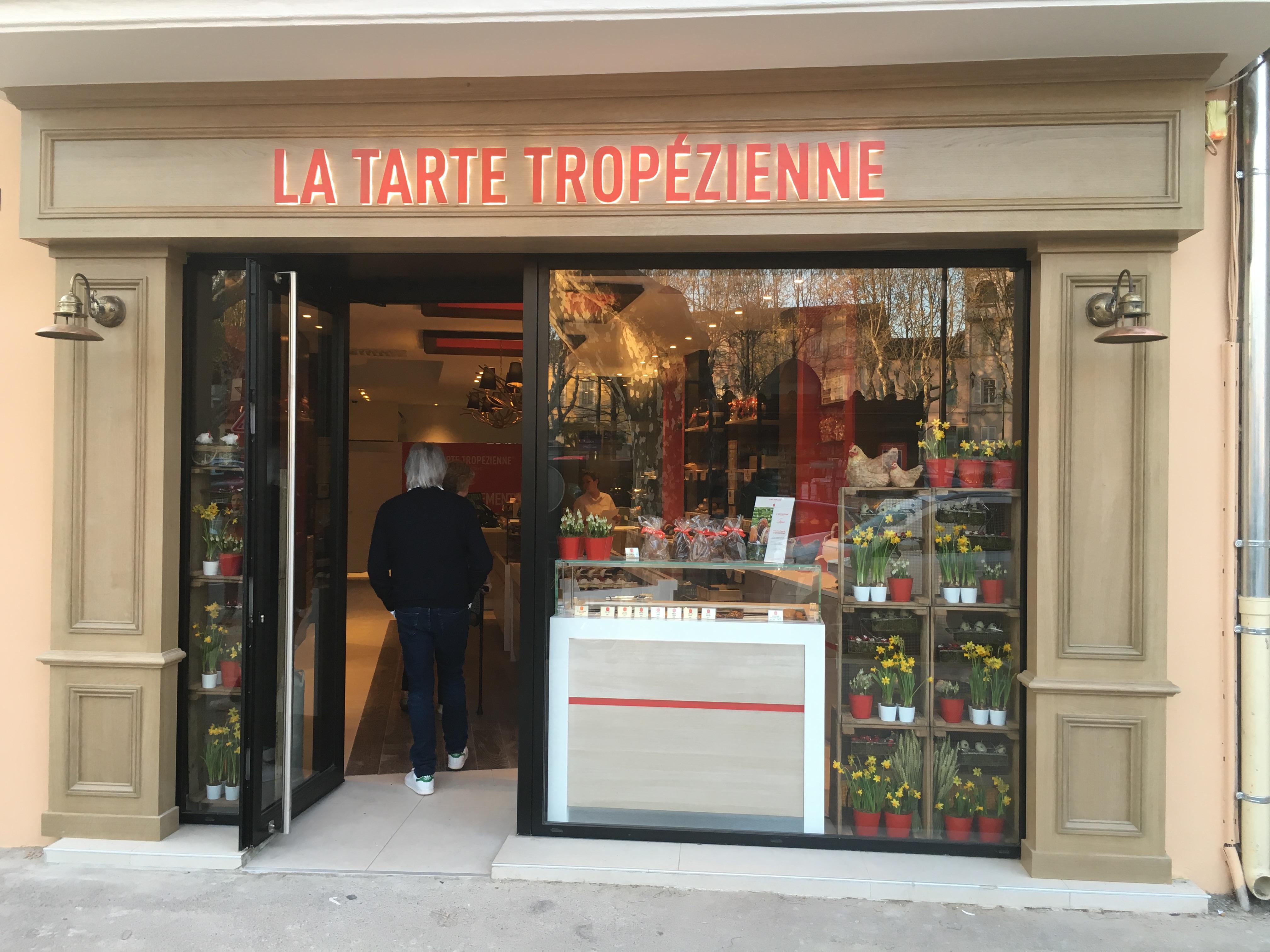 Saint-Tropez boutique la tarte tropézienne
